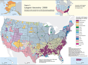 Ancestry map